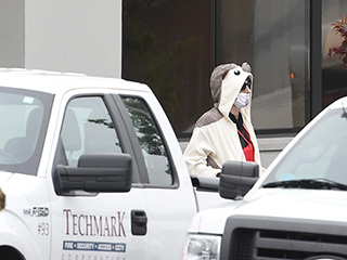 Suspect Dressed in Hedgehog Onesie Shot and Detained After Posing Bomb Threat at Baltimore News Station