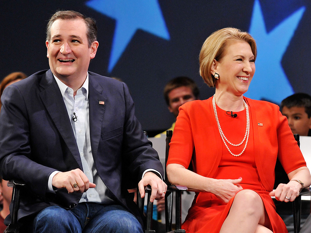 Ted Cruz Vetting Carly Fiorina As Possible VP Pick