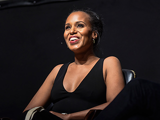Kerry Washington Teases President Obama's 'Funny' Side Ahead of Last White House Correspondents' Dinner, as She Joins Scandal Stars at Event in D.C.