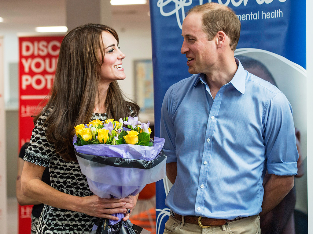 Prince William and Princess Kate at World Mental Health Day Photo