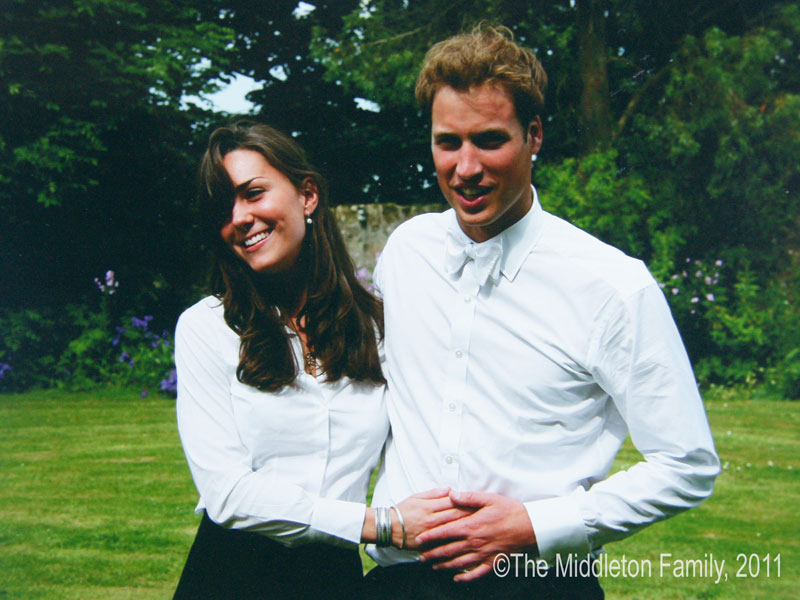 Prince William and Princess Kate College Graduation Photo