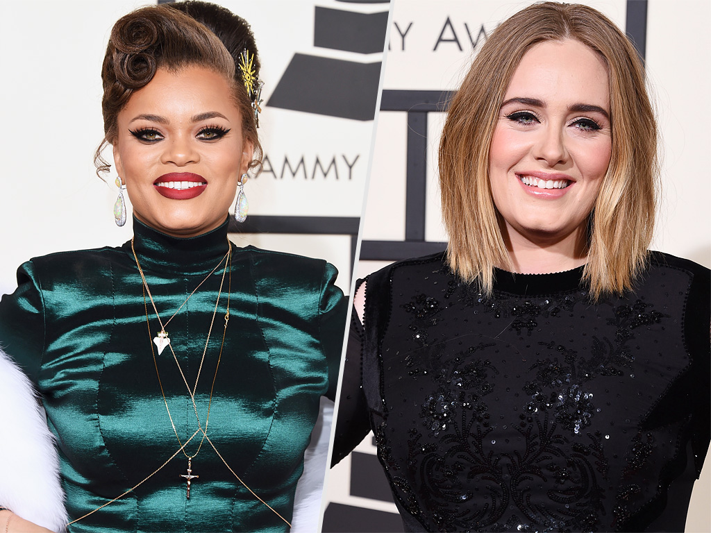 Andra Day Dad Met Adele at Grammys, Partner with Coke, McDonald's Essence