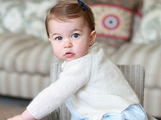 Where To Get Princess Charlotte's Perfect First Birthday Portrait Ensembles – and that Adorable Walker!
