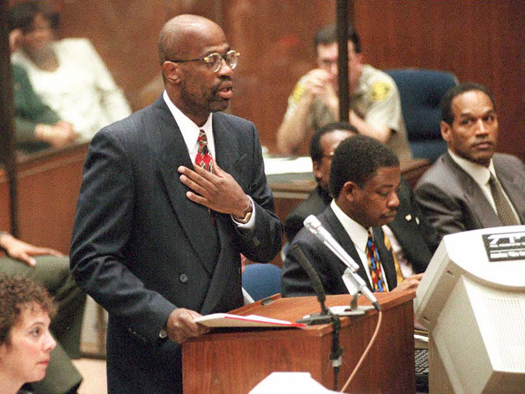What Christopher Darden Thought When O.J. Simpson Told Him to Control His Temper