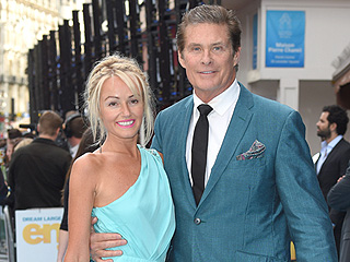 David Hasselhoff Engaged to Girlfriend Hayley Roberts