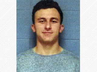 Johnny Manziel Posts Bail After Turning Himself in for Assault Charges – Then Jokes About His Mugshot on Twitter