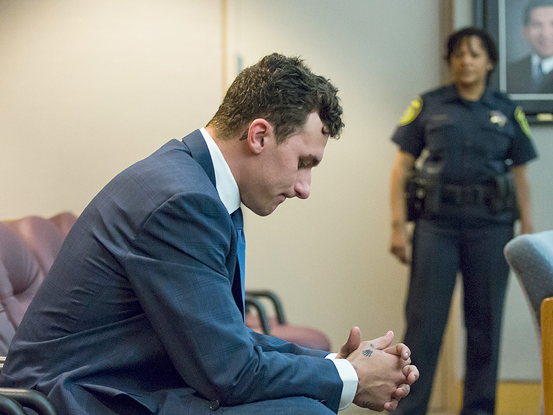 Texas Judge: Orders Johnny Manziel To Stay Away from Ex-Girlfriend