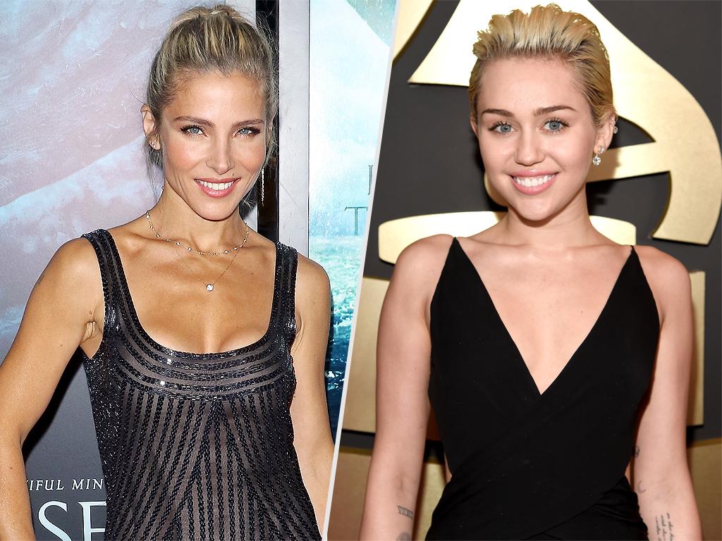 Miley Cyrus and Elsa Pataky Get Matching Tattoos