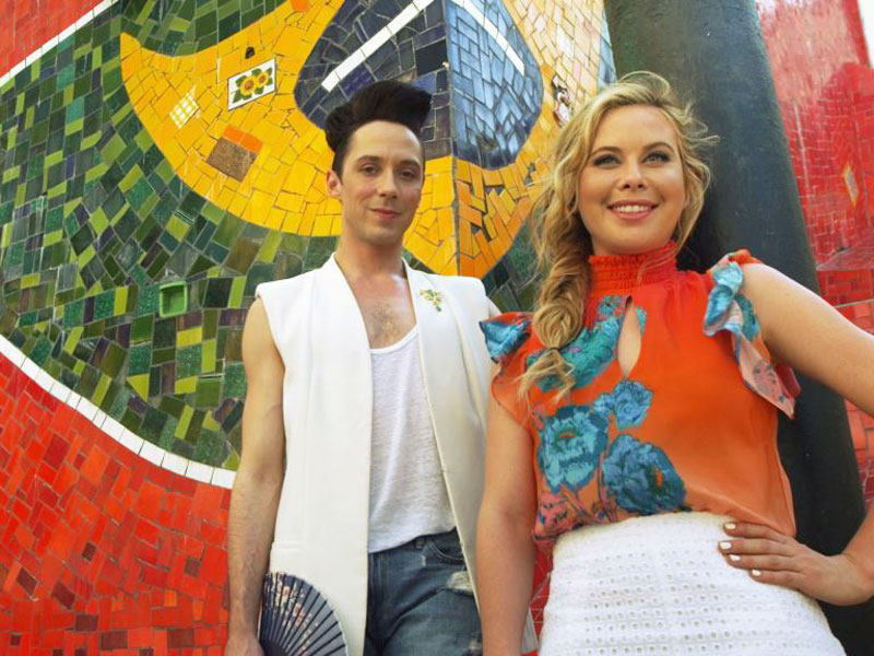 Correspondents Tara Lipinski and Johnny Weir will Cover 2016 Olympics