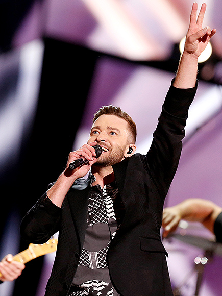 "Justin Timberlake Performs ""Can't Stop the Feeling"" at Eurovision Finale : People.com"