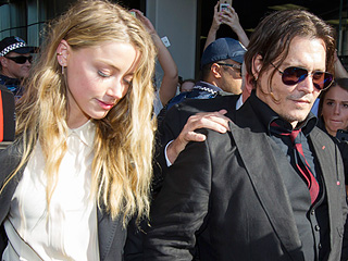 Johnny Depp & Amber Heard Split: 'I Never Would've Guessed He Was Going Through a Divorce' at Alice Premiere, Says Source