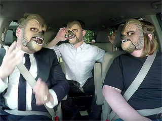 WATCH: James Corden Is Not Impressed with Chewbacca Mom in Hilarious New Sketch – and You'll Never Guess Who Shows Up