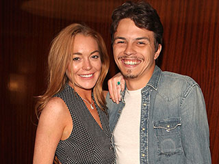 Lindsay Lohan and Boyfriend Egor Tarabasov Take Date Night to the Alice Through the Looking Glass Screening in London
