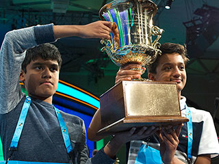 You're Not Smarter Than This Fifth-Grader! 11-Year-Old Co-Champion Is Youngest-Ever National Spelling Bee Winner