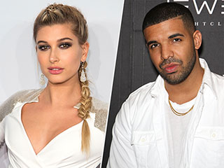Drake Gets 'Very Affectionate' with Hailey Baldwin at His Memorial Day Party