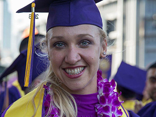 California Woman Graduates From Same University Where She Was Abandoned as an Infant