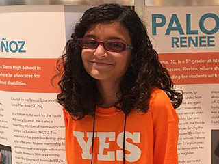 10-Year-Old Blind Florida Girl Raises Over $1 Million to Help Other Kids Like Her: 'Be Brave, the Result Is Worth It'