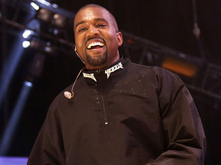 FROM EW: Flying High! Kanye West's Tour Opener Features Stage Floating Above the Crowd