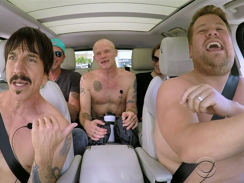 Anthony Kiedis Saved a Baby's Life While Filming Carpool Karaoke : People.com