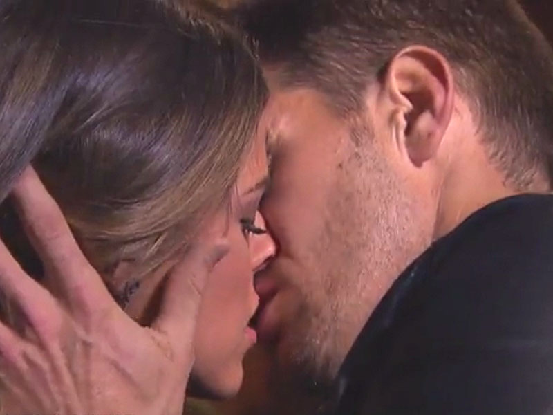 WATCH: The Bachelorette's JoJo Fletcher Can't Keep Her Hands off Contestant Luke Pell During Steamy Make Out Session