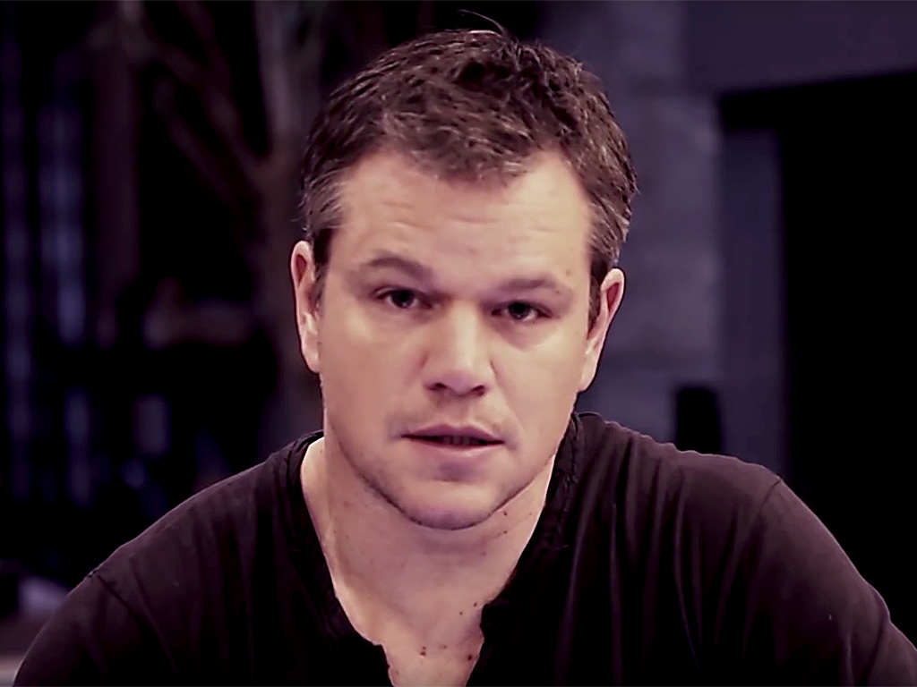 Matt Damon, Kate Mara and more celebs come together for PSA to stop ...