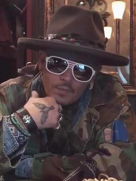 Johnny Depp Promotes the Hollywood Vampires' Upcoming NYC ... Johnny Depp/newspaper Articles