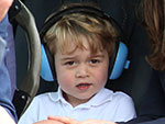 Every Photo of Prince George at the Air Show Will Make You Smile