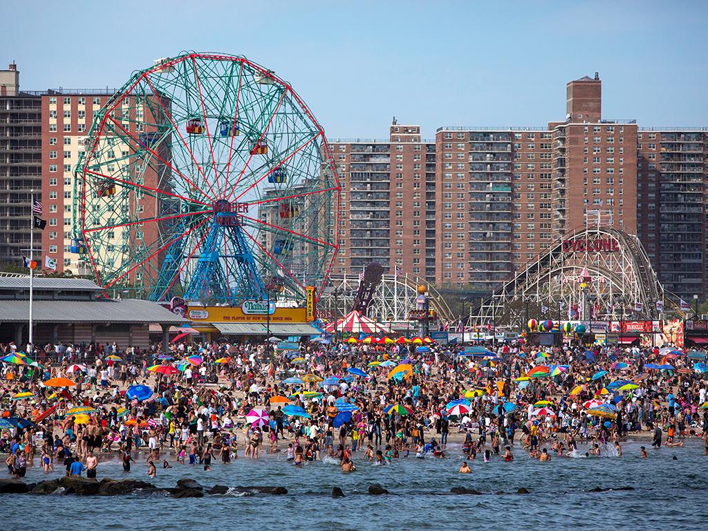Coney Island Beach Shore