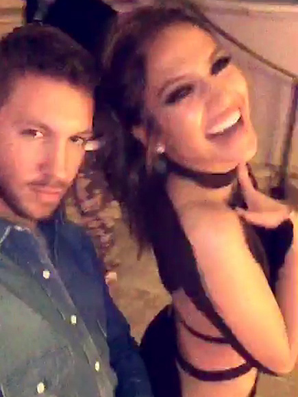 Jennifer Lopez and Calvin Harris 'Talking About a Music Collaboration,' Says Source
