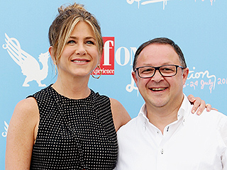 Bellissima! Jennifer Aniston Looks Chic in Black as She's Honored at Italian Film Festival