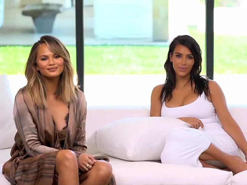 Kim Kardashian Inner Circle: Chrissy Teigen Fought with Husband at West Wedding