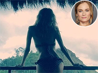 Bikini-Clad Diane Kruger Enjoys Vacation Following Split From Joshua Jackson