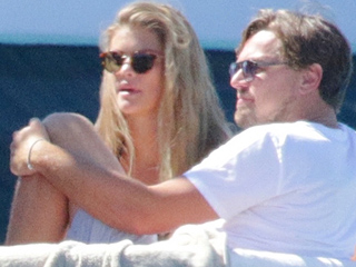 Leonardo DiCaprio and New Flame Nina Agdal Party with Tobey Maguire on a Yacht in Ibiza
