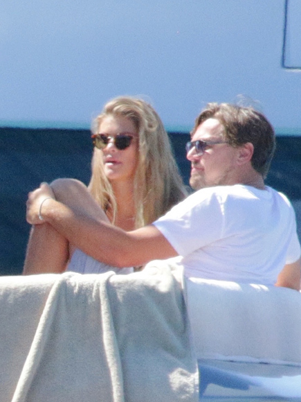 Leonardo DiCaprio, Nina Agdal and Tobey Maguire Yacht it Up in Ibiza