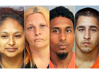 Four Adults Arrested For Allegedly Using Stun Gun to Discipline Children for Not Doing Pushups