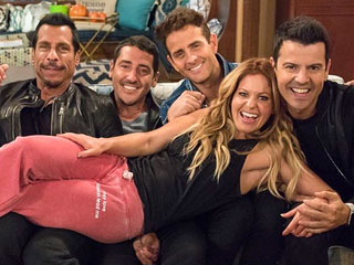 'They Just Keep Getting Better!' Candace Cameron Bure Is Loving Filming Fuller House with NKOTB
