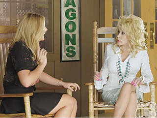 WATCH: Hilarity Ensues When Kelsea Ballerini, Cam, Lauren Alaina and RaeLynn Meet Dolly Parton