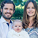 Cutest Royal Family of 3 Ever! Prince Carl Philip and Princess Sofia Are All Smiles in New Photo with Prince Alexander