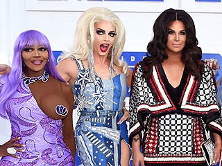 RuPaul's Drag Race All Stars Cast Recreates Iconic Looks of VMAs Past