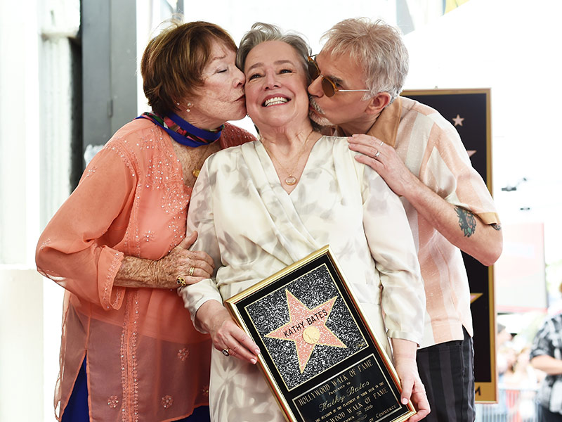 Kathy Bates Receives H...