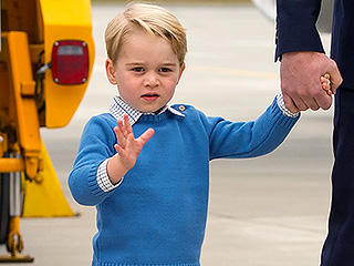 Prince George Brings Back the Knee Socks! All About His Canada Arrival Look