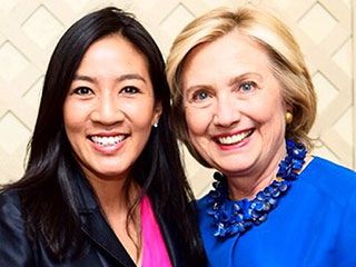 14 Years After Her Last Olympic Medal, Figure Skater Michelle Kwan Is Working to Get Hillary Clinton in the White House