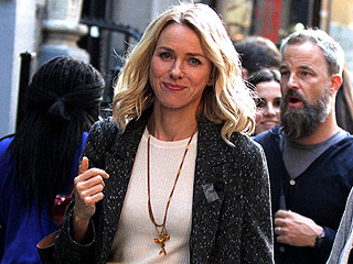 Naomi Watts Smiles on Set in NYC Amid Split from Liev Schreiber