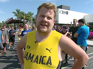 WATCH: Usain Bolt Races James Corden and Owen Wilson in Hilarious Parking Lot Sprint (You Can Probably Guess Who Won)