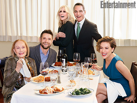 FROM EW: The Who's the Boss? Cast Reflects on Becoming a Real Family off Screen