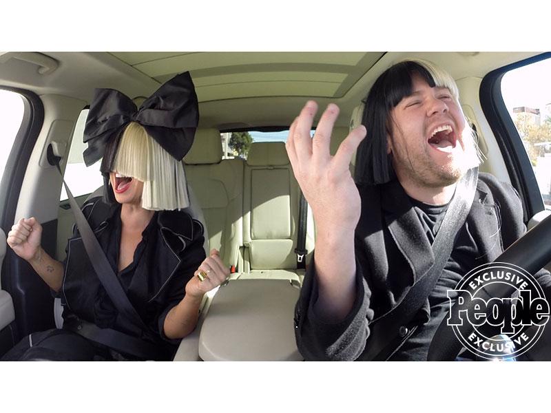Sia and James Corden Slay 'Carpool Karaoke' Together