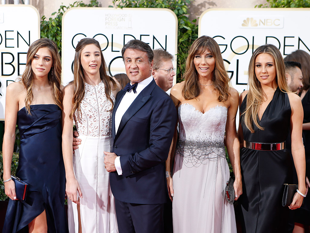 Sylvester Stallone's Daughters: What to Know About Sophia, Sistine & Scarlet