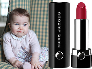 A Lipstick Fit For Royalty! Princess Charlotte Scores Her Own Shade at Just 9 Months