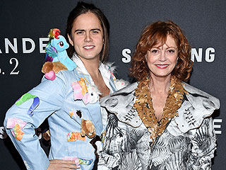 Susan Sarandon's Son Wore A Dress and My Little Pony-Covered Blazer to the Zoolander 2 Premiere