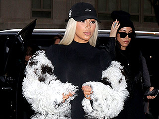 Kim Kardashian West Is Still Wearing Her Blonde Wig – Is a More Permanent Change on the Way?
